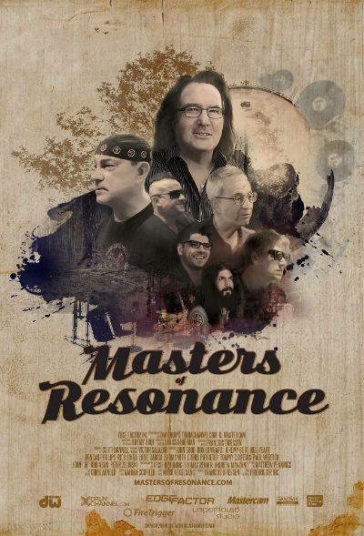Masters of Resonance - The Making of Neil Peart's R40 Drum Kit Documentary Trailer Now Online