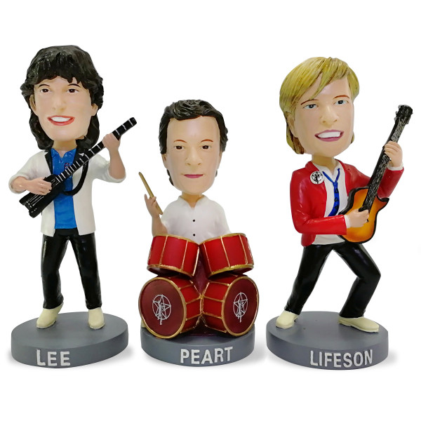 New 80's Edition Rush Bobbleheads Dolls Coming This December