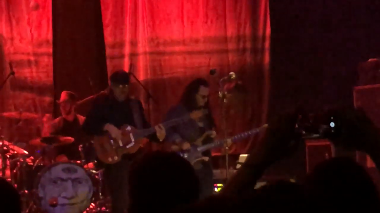 Geddy Lee Performs On Stage with Claypool Lennon Delirium