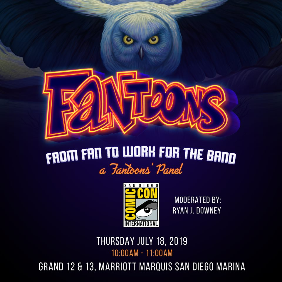 Fantoons Descends on San Diego's Comic-Con With New Rush Merchandise