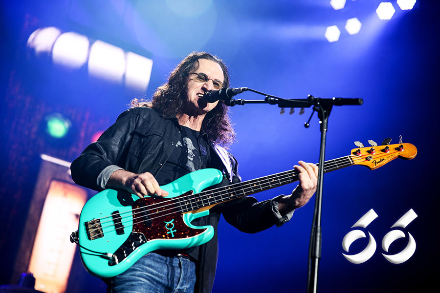 Geddy Lee Celebrates His 66th Birthday Today!