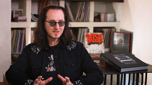 Geddy Lee Talks Bass Guitars and Broadway in a New UDiscover Music Video Interview