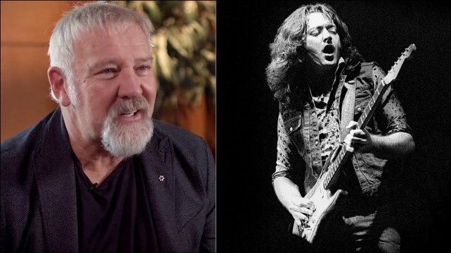 Alex Lifeson Talks About Rush Touring with Rory Gallagher