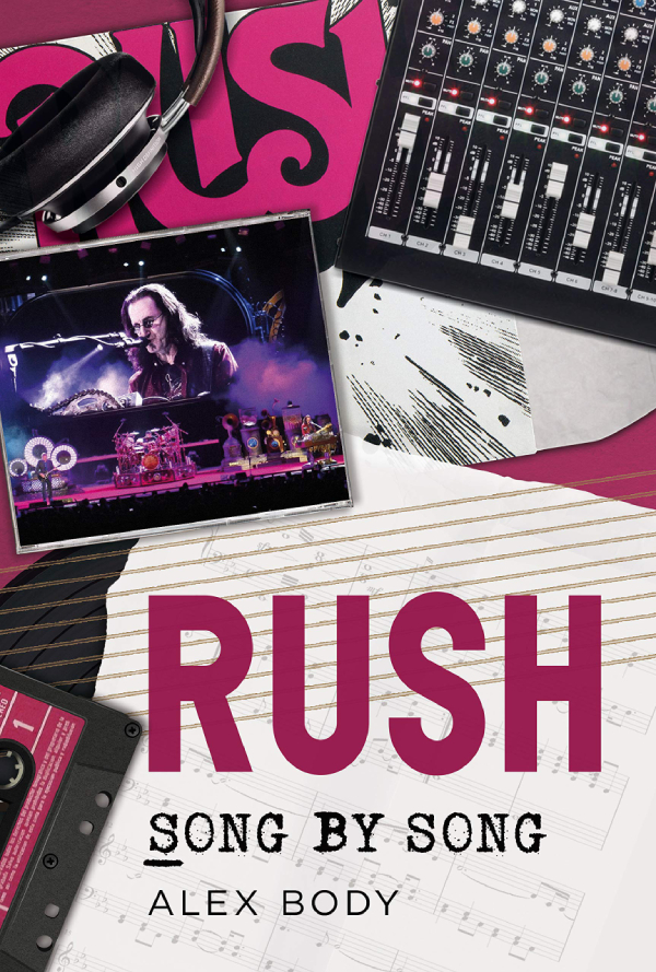Rush: Song by Song Book Coming in January 2020