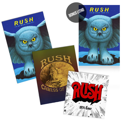 The Missing Tourbook Collection - Now Available at the Rush Backstage Club