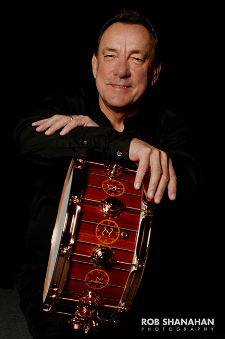 Neil Peart Inducted into the Percussive Arts Society Hall of Fame