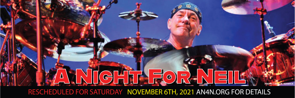 A Night for Neil - The Neil Peart Memorial Celebration Rescheduled to November 6th, 2021