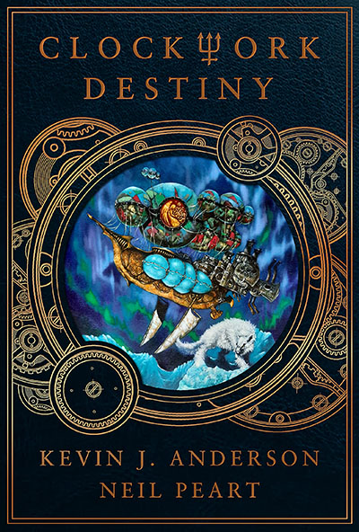 Clockwork Destiny Novel by Kevin J. Anderson and Neil Peart Coming in April 2022