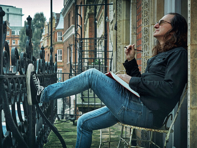 Geddy Lee Currently Writing a Memoir.  Expecting a Fall 2022 Release Date