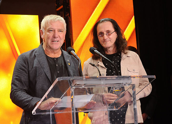Geddy Lee and Alex Lifeson to present The Tragically Hip with the 2021 Humanitarian Award at this year's JUNO Awards