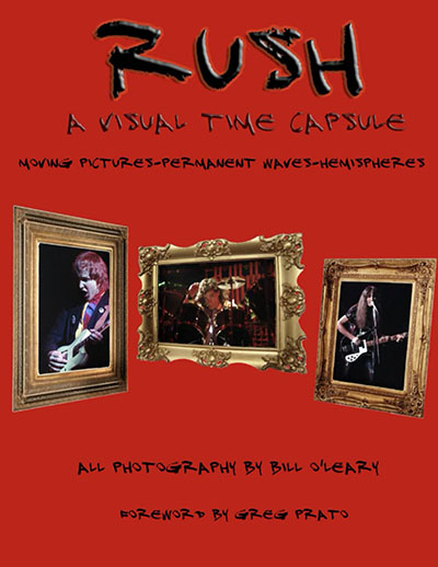 Rush: A Visual Time Capsule Book Now Available