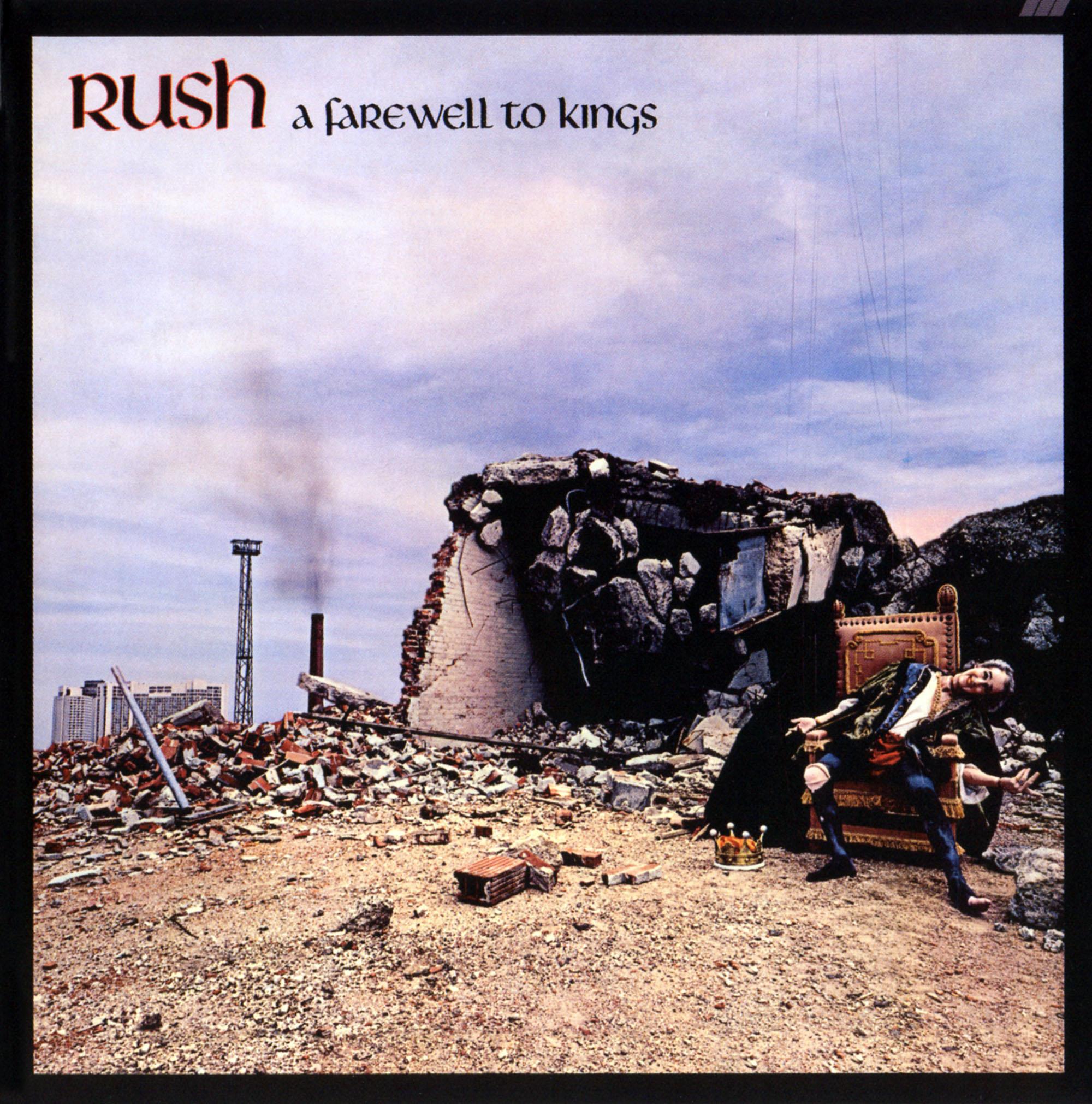 Rush a farewell to kings album artwork - Rush album covers ...