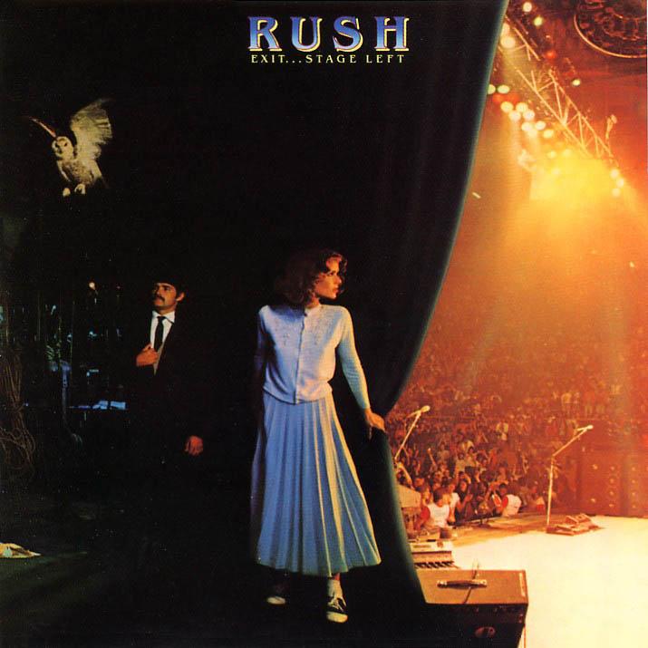 Rush exit stage left album artwork - Rush album art ...