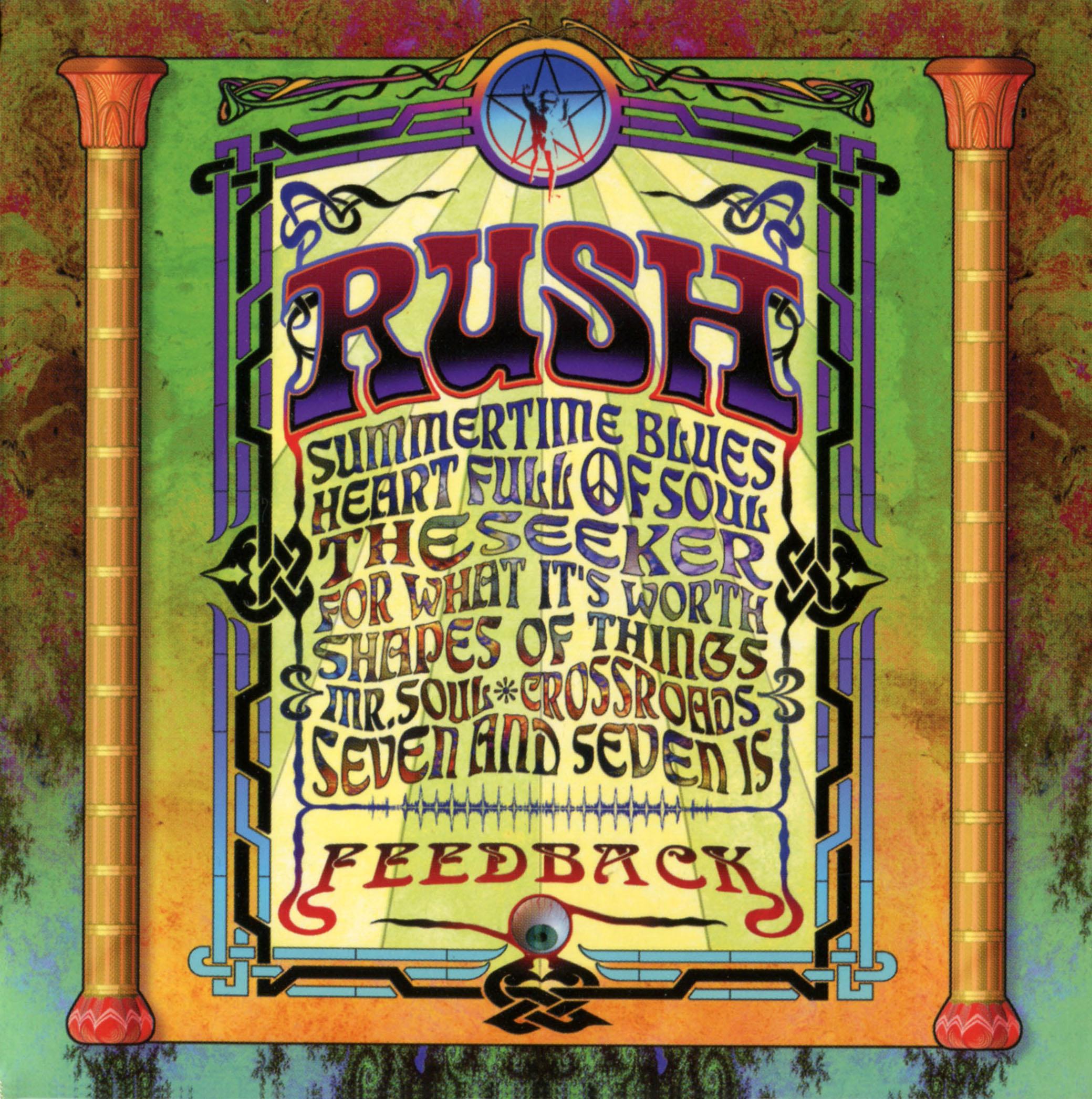 Rush feedback album artwork - Rush album covers ...
