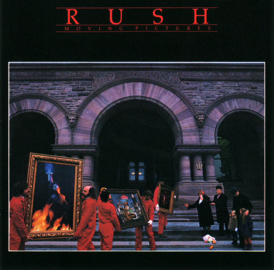 Rush's Moving Pictures Certified 5X Platinum by the RIAA