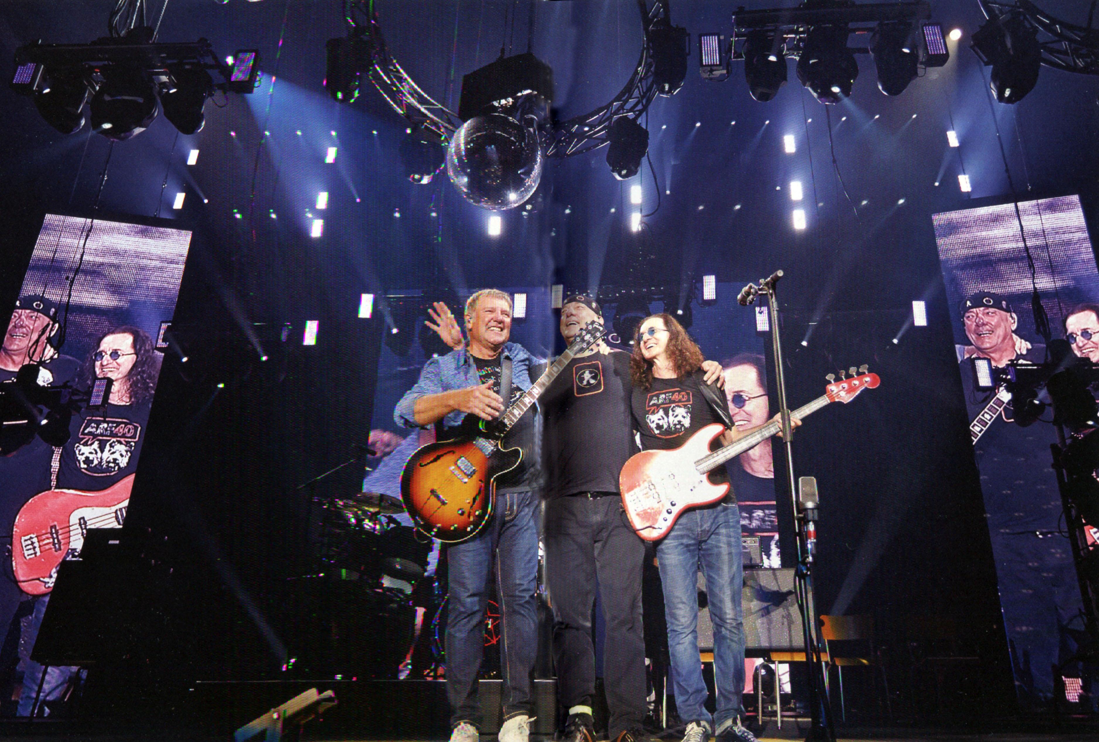 Rush Tour News
