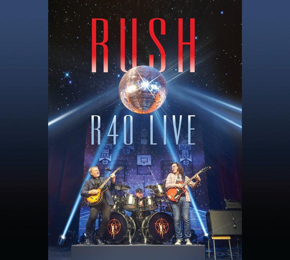 Rush r40 live album artwork - Rush album art ...