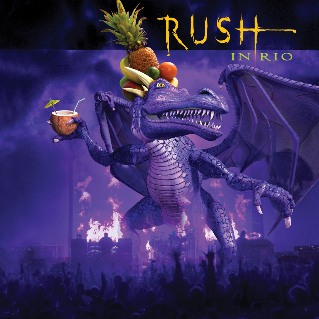 Rush in Rio Released on 180 Gram Vinyl. Package Includes New Liner Notes Essays and Photos