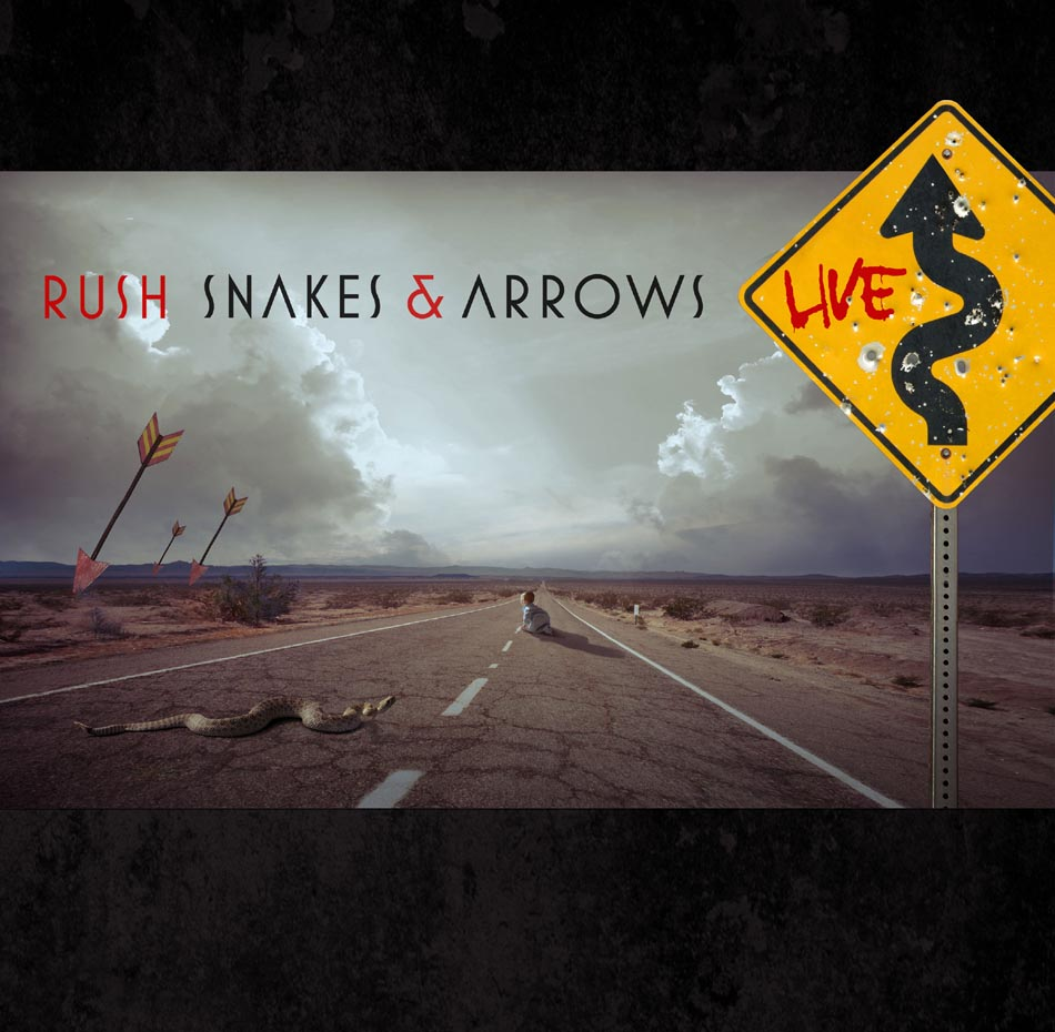 Rush snakes arrows live album artwork - Rush album art ...