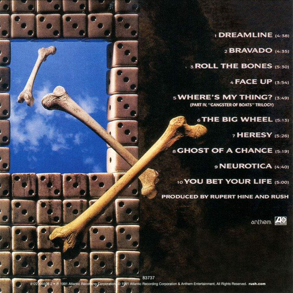 Rush - The Studio Albums - 1989-2007