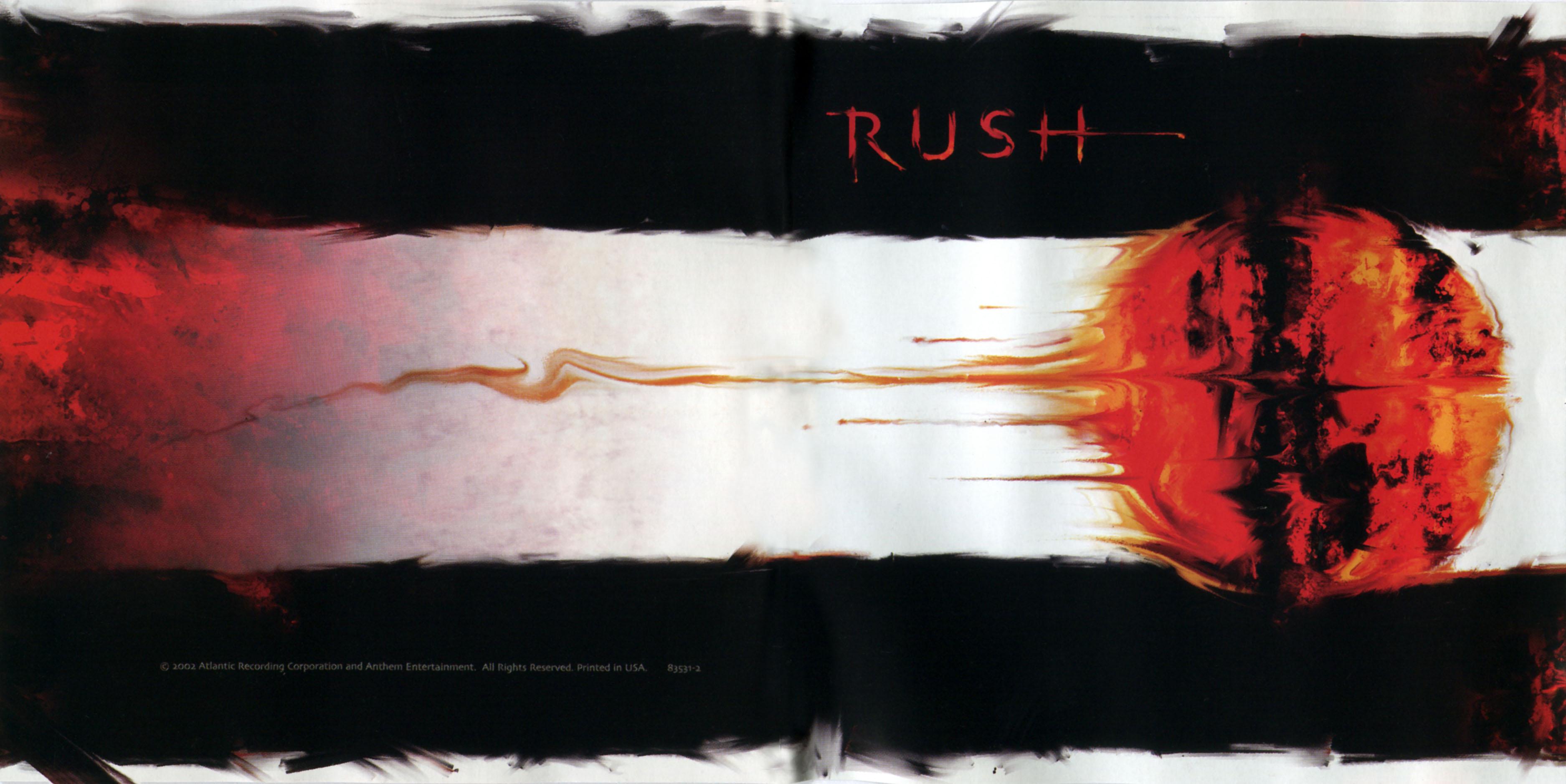 Rush Vapor Trails Album Artwork