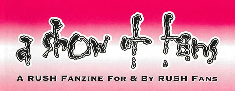 A Show of Fans Rush Fanzine Archive Now Online