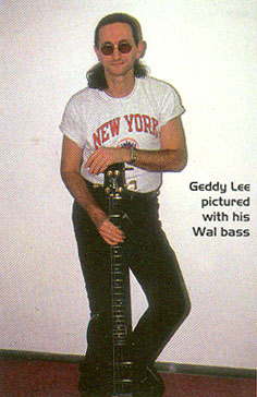 Vapor Trail Afterglow An Interview With Geddy Lee Bass Guitar