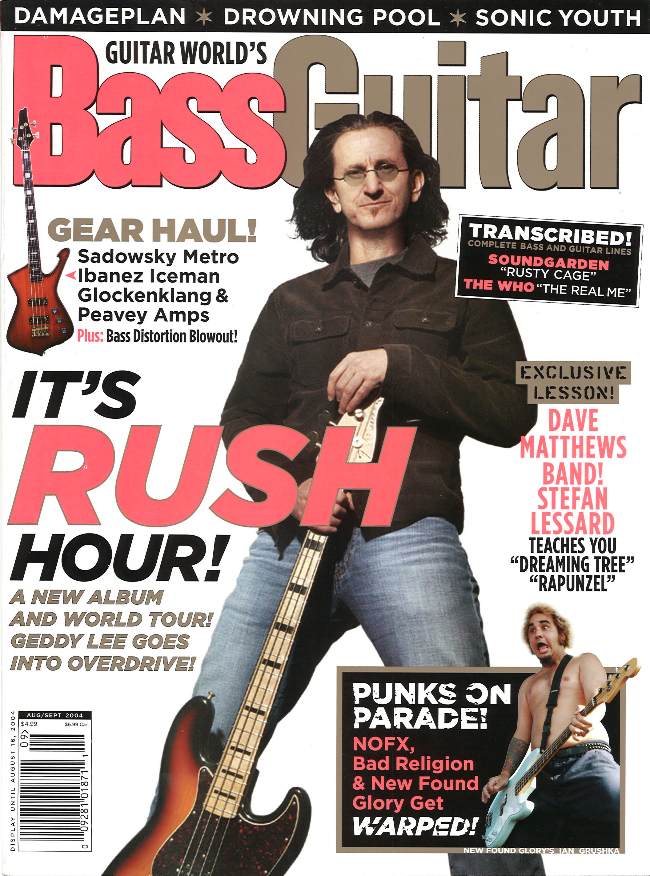 Bass Guitar Magizine : working man bass guitar magazine august 2004 ~ Hamham.info Haus und Dekorationen