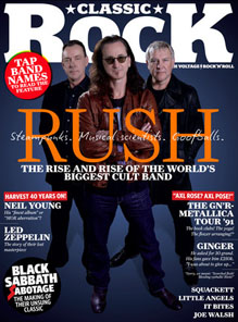 Rush Classic Rock Magazine - July 2012
