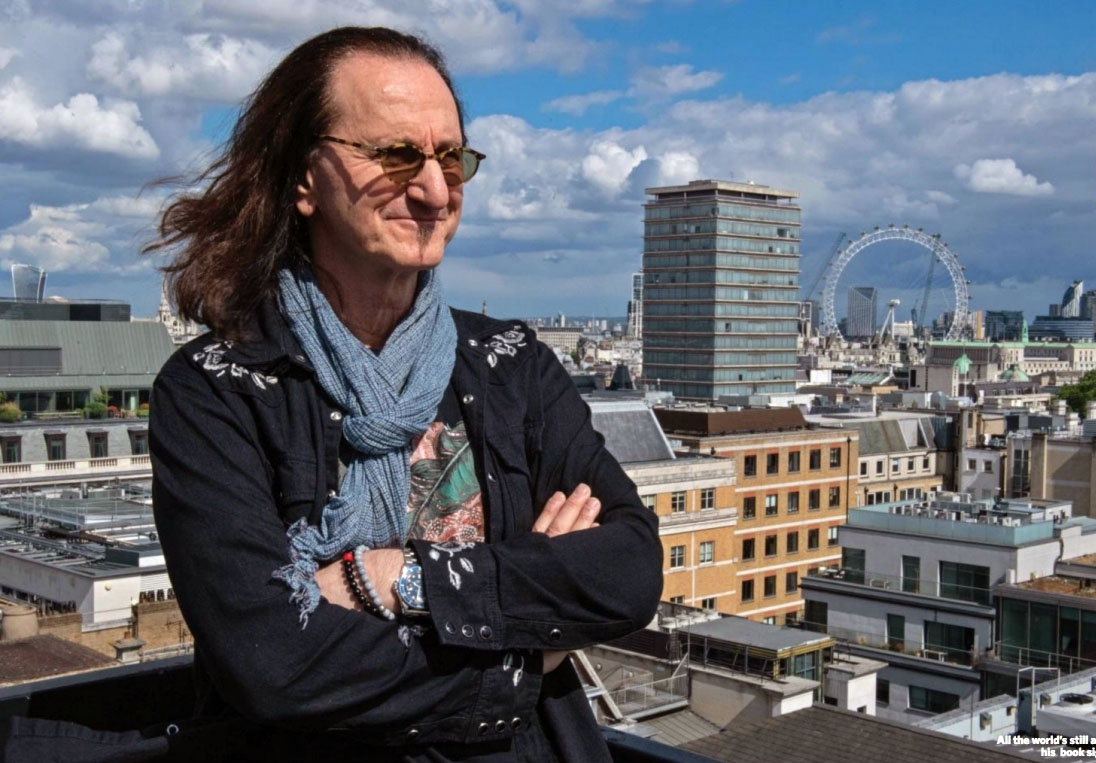 Geddy Lee's UK Book Signing Tour Documented in New Classic Rock Magazine Article