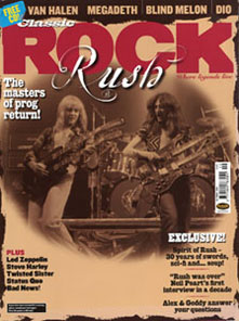 Rush - Classic Rock Magazine - October 2004