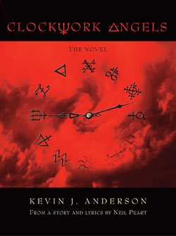 CLOCKWORK ANGELS: The Graphic Novel Coming in April 2014