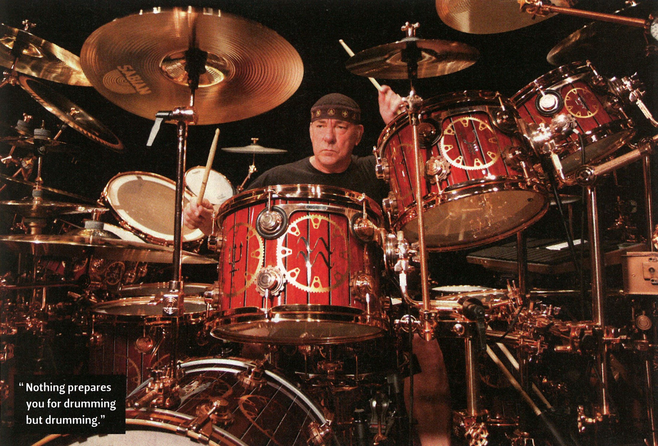 Neil Peart Drums