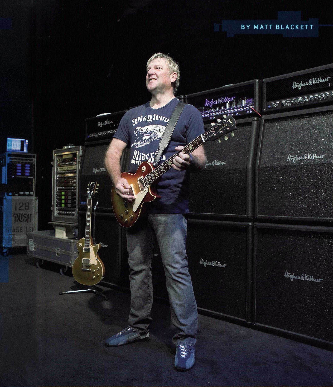 Alex Lifeson Guitarist : alex lifeson different strings guitar player magazine september 2007 ~ Hamham.info Haus und Dekorationen
