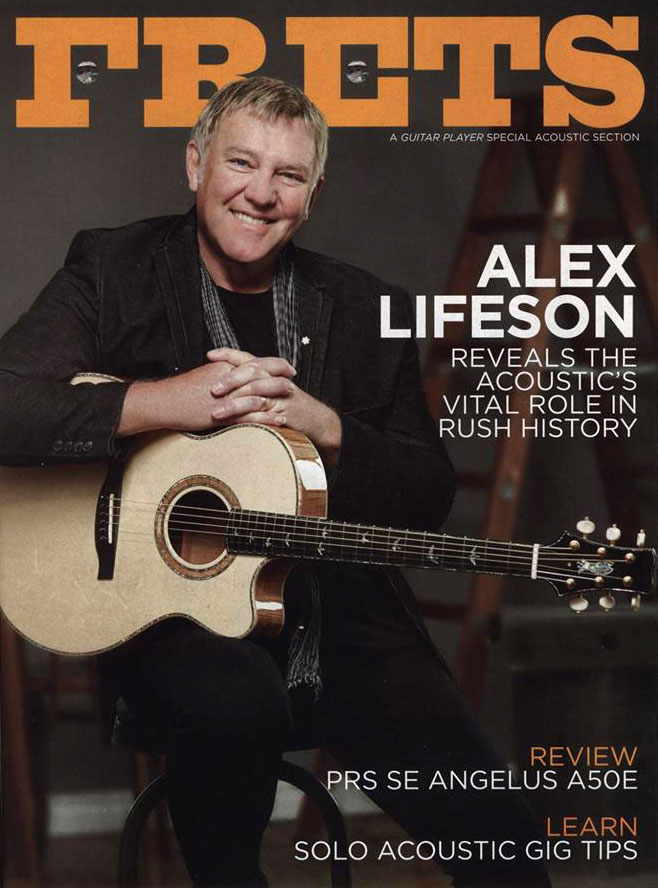 Alex Lifeson Reveals the Acoustic's Vital Role in Rush's History in New Guitar Player Magazine Interview