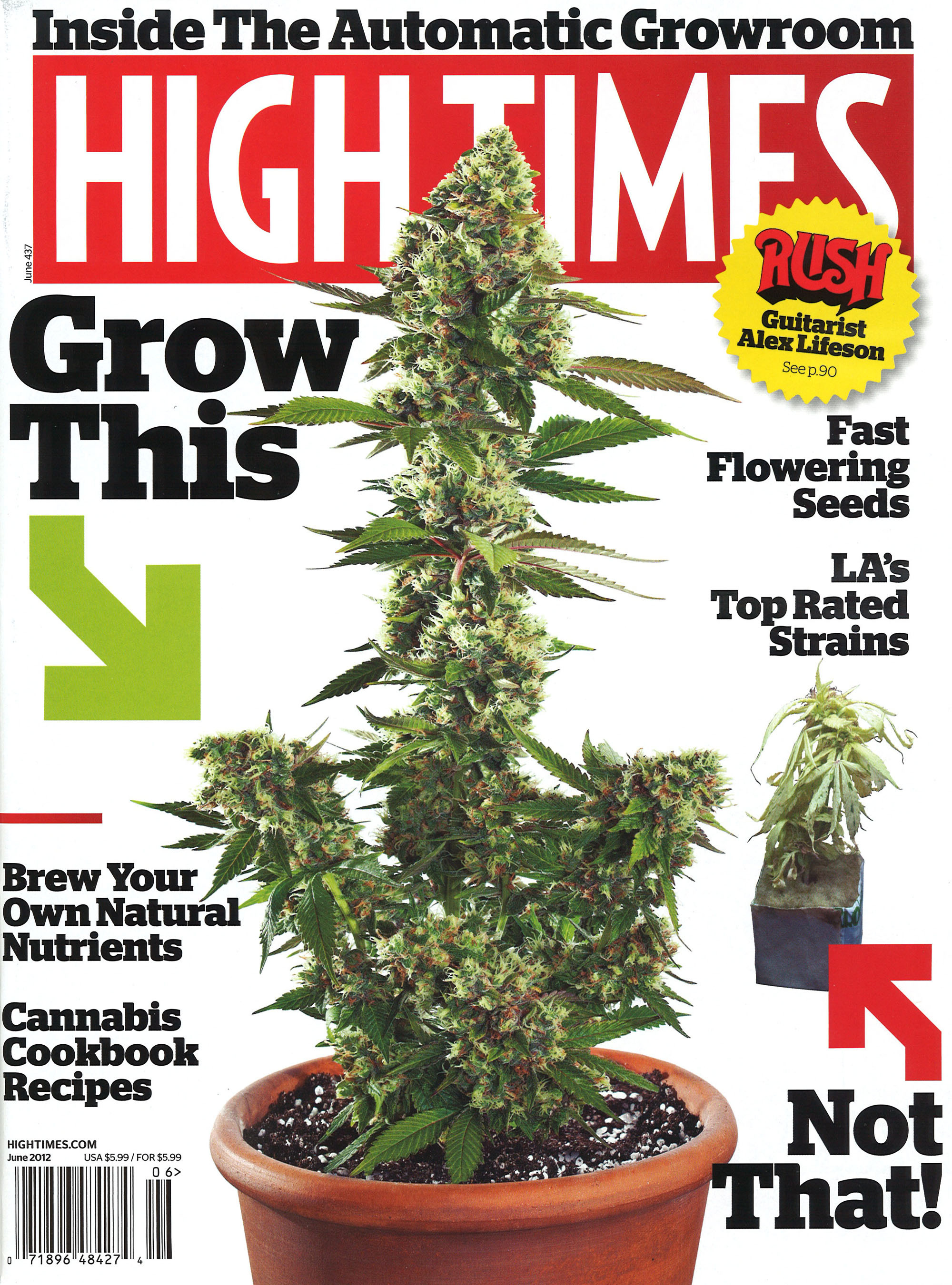 High Times Magazine June 1976 Early Issue