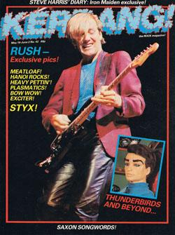 Guitar World mag Nov '82 Eddie Van Halen, Allan Holdsworth, Roy Buchanan