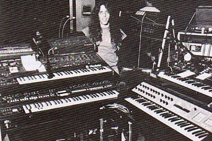 Geddy Lee Of Rush Keyboard Magazine September 1984