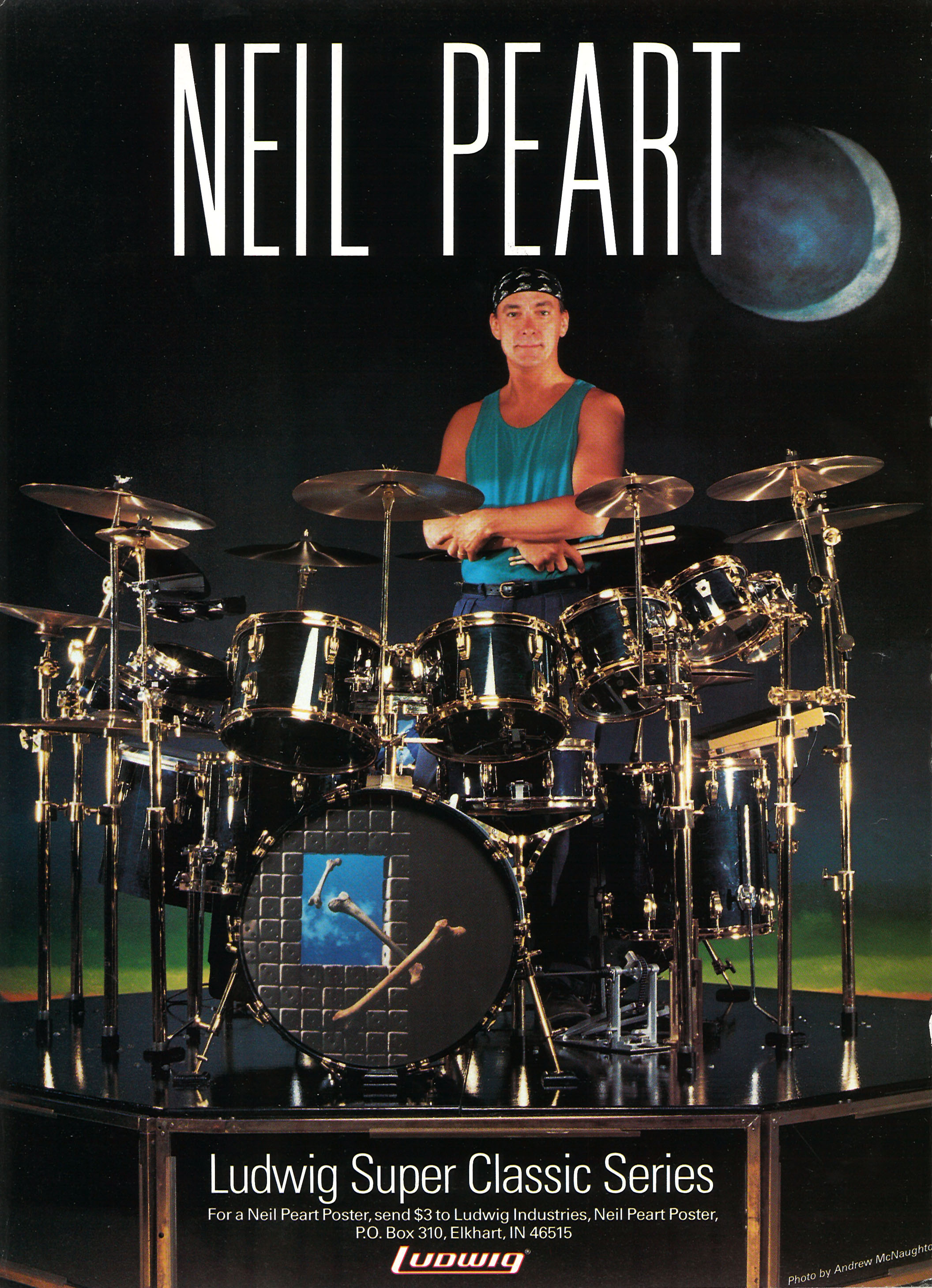 Neil Peart In Search Of The Right Feel Modern Drummer