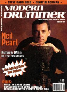 Modern Drummer Magazine - February 1994