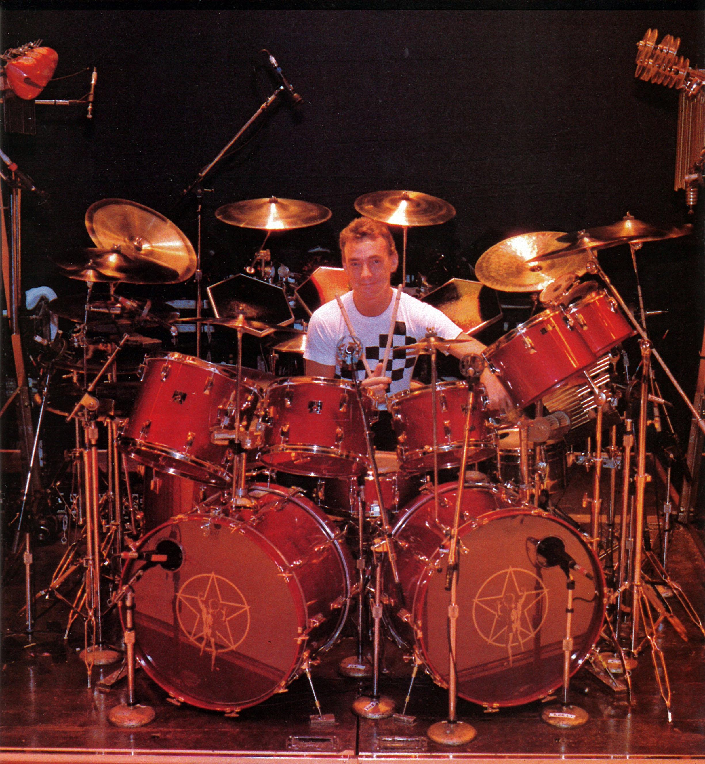 Modern Drummer Magazine 10/1998 Harvey Mason