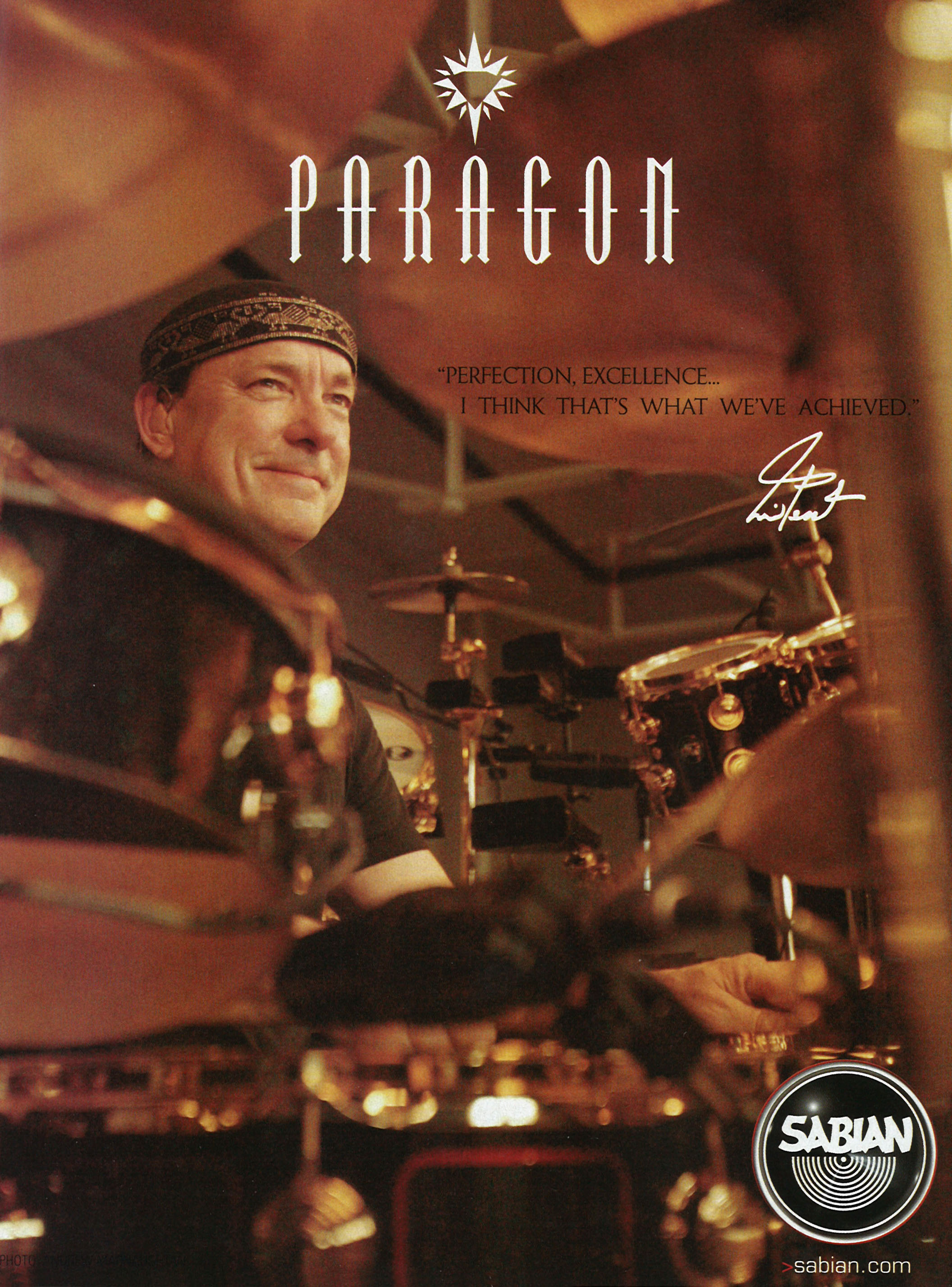 Soloing In The Shadows Of Giants - Modern Drummer Magazine - April 2006