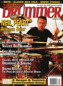 Neil Peart - Modern Drummer September 2002