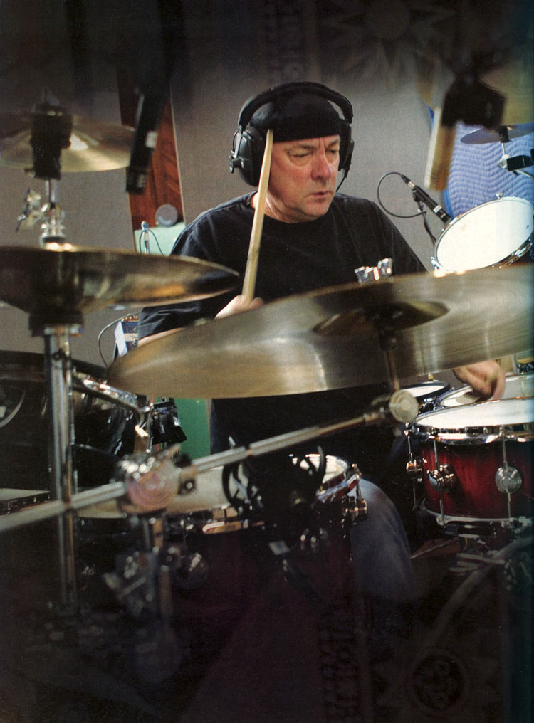 The Drums of Snakes and Arrows - Modern Drummer Magazine - August 2007