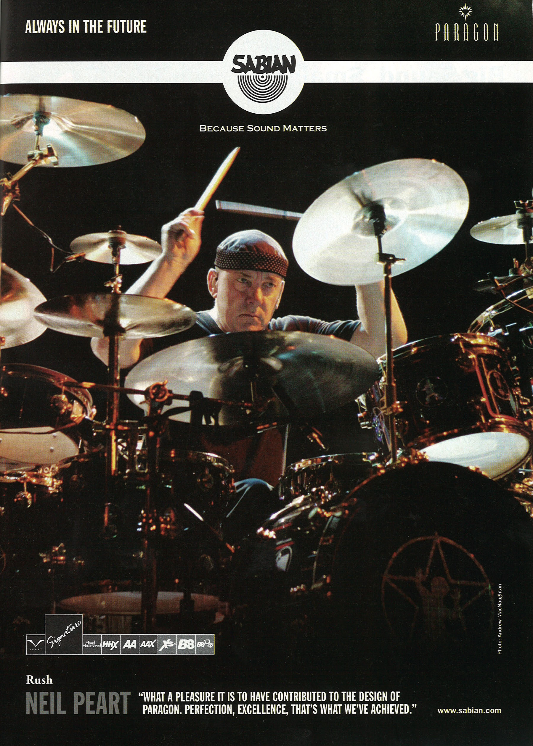 The Drums Of Snakes And Arrows Modern Drummer Magazine August 2007