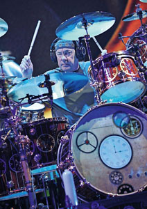 Neil Peart Talks Drum Solos with Rhythm Magazine