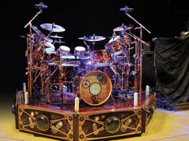 Close Up On Neil Peart Rhythm Magazine August 2011