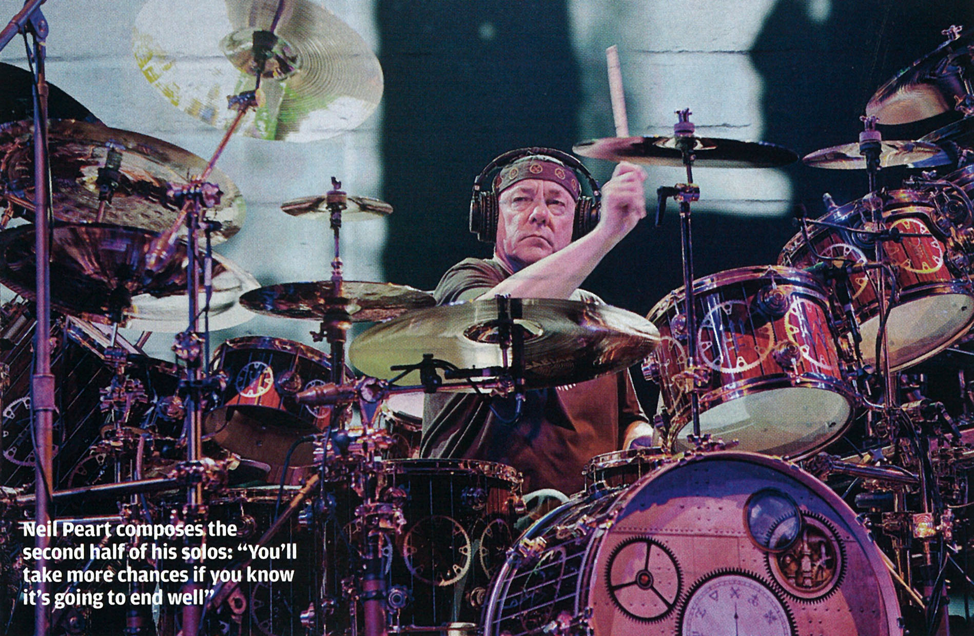 The Story Of The Drum Solo With Neil Peart Rhythm