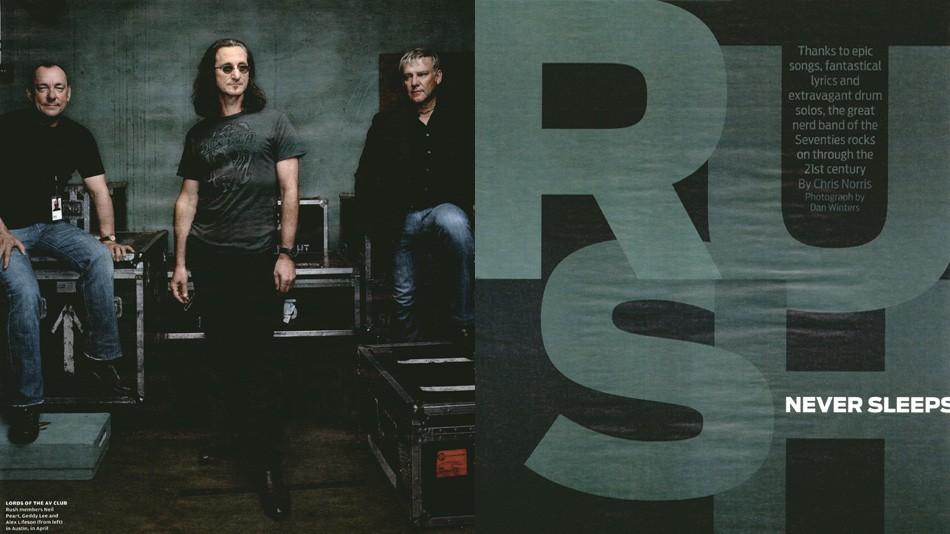 Rush Never Sleeps - Rolling Stone Magazine - July 2008