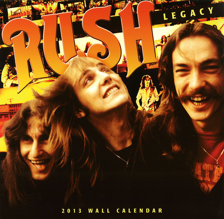 The 2013 rush wall calendar rush 2013 wall calendar voltagebd Image collections